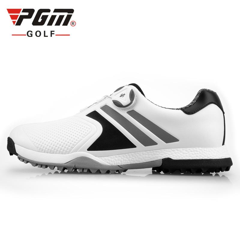 [Hàng Auth - Chọn màu] Giày Golf Nam - PGM MOEYES Waterproof Men Soft - XZ118