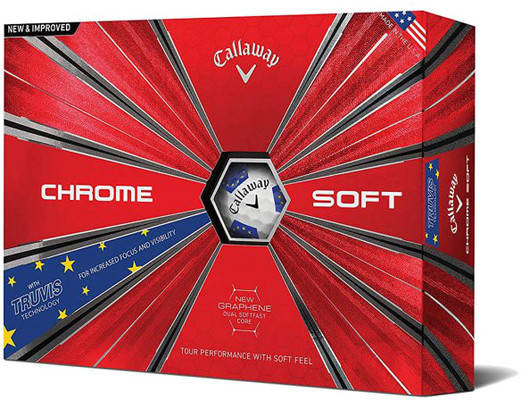 [Có bảo hành] Bóng Chơi Golf Callaway - Chrome Solf Truvis 18 - CQ12BST18