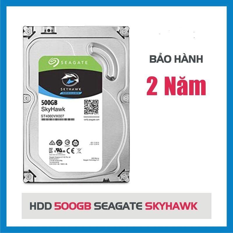 Bảng giá Ổ cứng HDD SEAGATE 500GB SKYHAWK ( Bảo hành 24 tháng) Phong Vũ