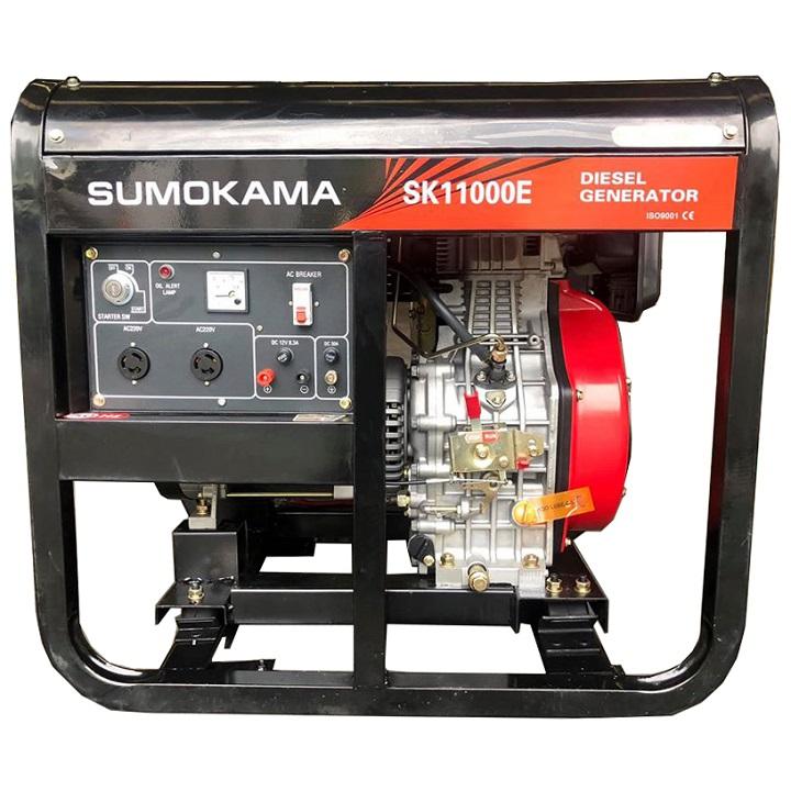 Máy Phát Điện Chạy Dầu 7Kw Sumokama SK10000E